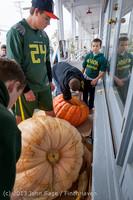 8555 VHS Football guts pumpkins 101913