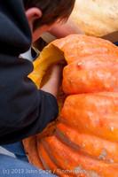 8565 VHS Football guts pumpkins 101913