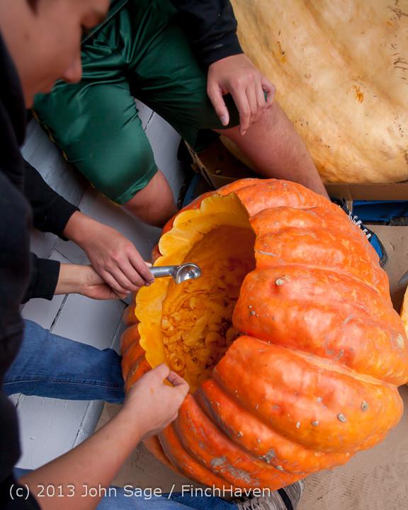8570 VHS Football guts pumpkins 101913