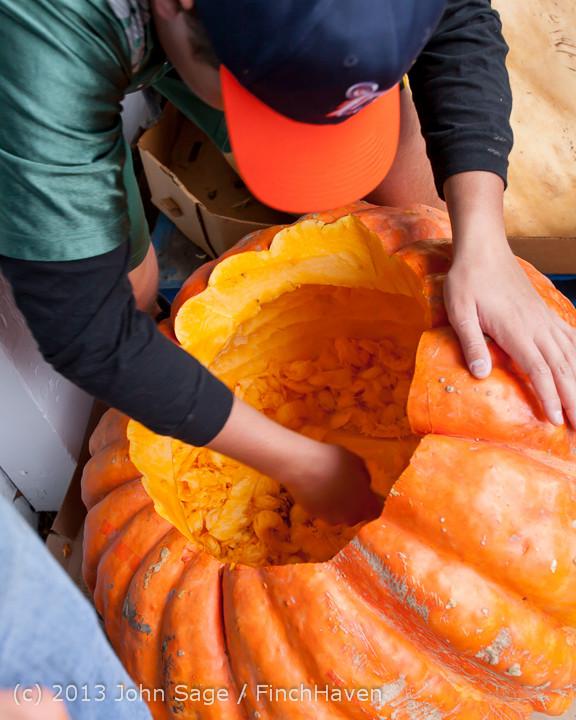 8579 VHS Football guts pumpkins 101913
