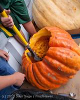 8599 VHS Football guts pumpkins 101913