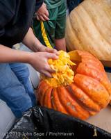 8614 VHS Football guts pumpkins 101913