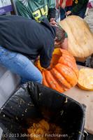 8619 VHS Football guts pumpkins 101913