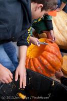 8623 VHS Football guts pumpkins 101913
