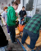 8638 VHS Football guts pumpkins 101913