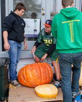 8642 VHS Football guts pumpkins 101913