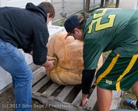 8647 VHS Football guts pumpkins 101913