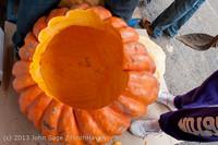 8650 VHS Football guts pumpkins 101913