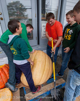 8660 VHS Football guts pumpkins 101913