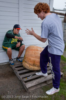 8670 VHS Football guts pumpkins 101913