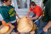 8698 VHS Football guts pumpkins 101913