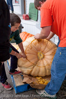 8703 VHS Football guts pumpkins 101913