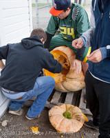 8709 VHS Football guts pumpkins 101913