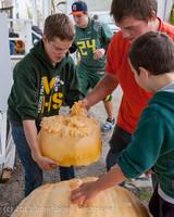 8723 VHS Football guts pumpkins 101913