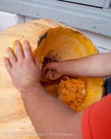 8729 VHS Football guts pumpkins 101913