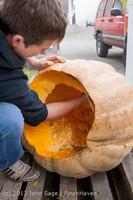 8737 VHS Football guts pumpkins 101913