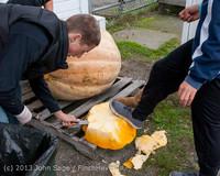 8740 VHS Football guts pumpkins 101913