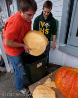 8756 VHS Football guts pumpkins 101913