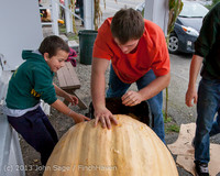 8765 VHS Football guts pumpkins 101913