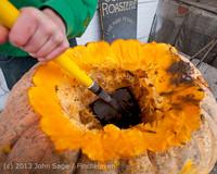 8778 VHS Football guts pumpkins 101913