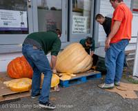 8781 VHS Football guts pumpkins 101913