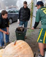 8791 VHS Football guts pumpkins 101913