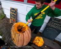 8809 VHS Football guts pumpkins 101913