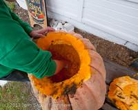 8816 VHS Football guts pumpkins 101913