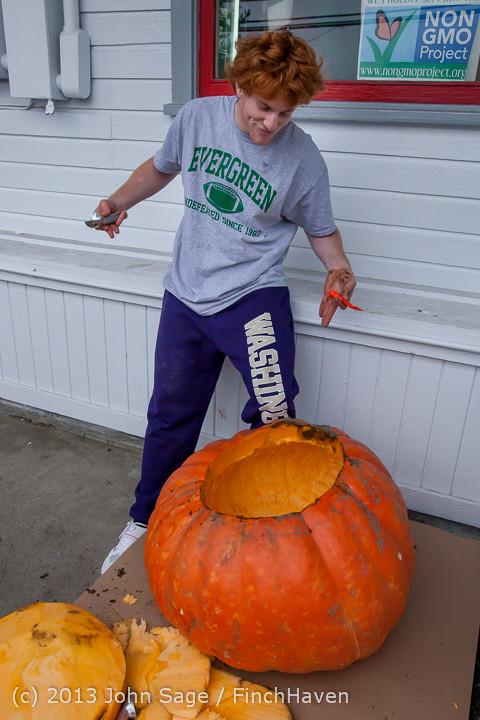 8821 VHS Football guts pumpkins 101913