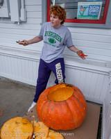 8822 VHS Football guts pumpkins 101913