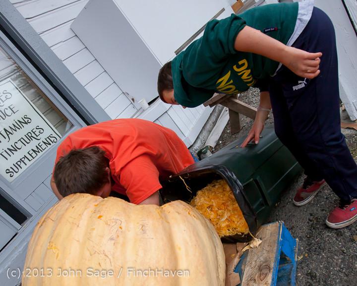 8823 VHS Football guts pumpkins 101913