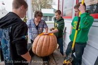 8825 VHS Football guts pumpkins 101913