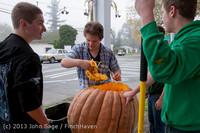 8831 VHS Football guts pumpkins 101913