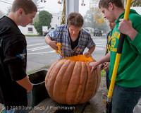 8833 VHS Football guts pumpkins 101913