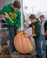 8849 VHS Football guts pumpkins 101913