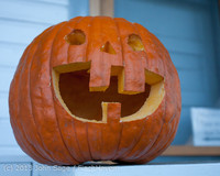 8899 Pumpkin Lighting at the Vashon Roasterie 102713