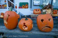 8902 Pumpkin Lighting at the Vashon Roasterie 102713