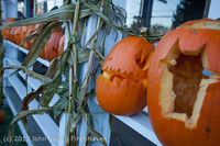 8904 Pumpkin Lighting at the Vashon Roasterie 102713