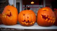 8975 Pumpkin Lighting at the Vashon Roasterie 102713