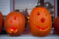 8980 Pumpkin Lighting at the Vashon Roasterie 102713