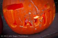 8994 Pumpkin Lighting at the Vashon Roasterie 102713