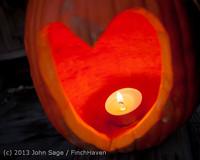9001 Pumpkin Lighting at the Vashon Roasterie 102713