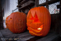 9002 Pumpkin Lighting at the Vashon Roasterie 102713