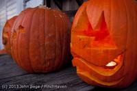 9003 Pumpkin Lighting at the Vashon Roasterie 102713