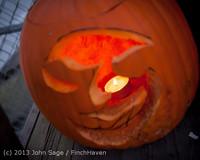 9004 Pumpkin Lighting at the Vashon Roasterie 102713