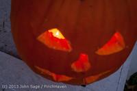 9007 Pumpkin Lighting at the Vashon Roasterie 102713