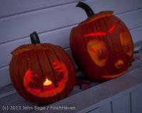 9009 Pumpkin Lighting at the Vashon Roasterie 102713