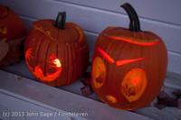9011 Pumpkin Lighting at the Vashon Roasterie 102713