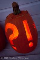 9014 Pumpkin Lighting at the Vashon Roasterie 102713