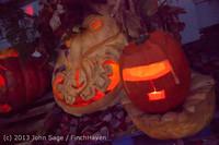9023 Pumpkin Lighting at the Vashon Roasterie 102713
